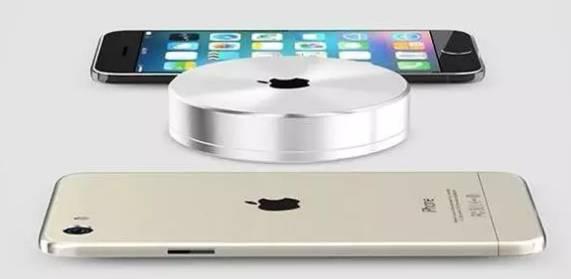 iphone 8 wifi充电