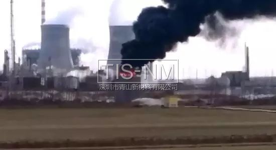 亚洲最大环氯企业山东海力火灾现场