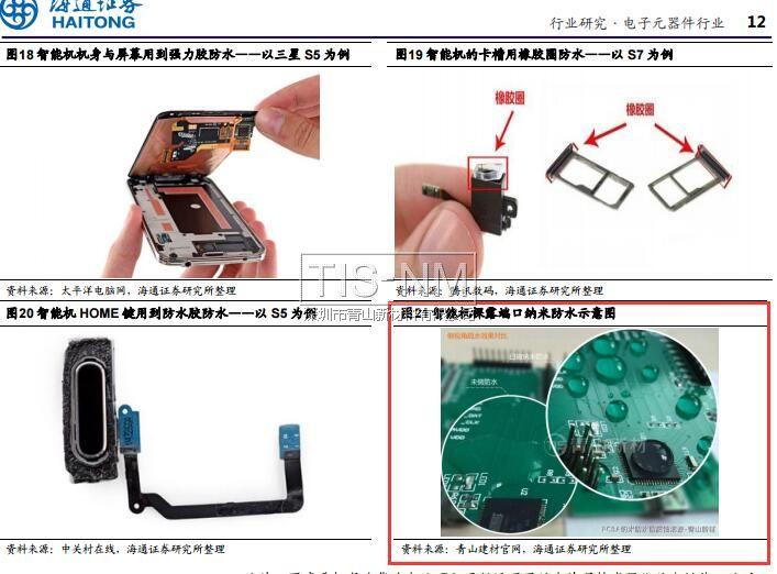 电子产品防水结构与PCB防水
