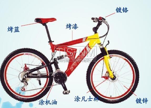 自行车车身钢铁防腐措施
