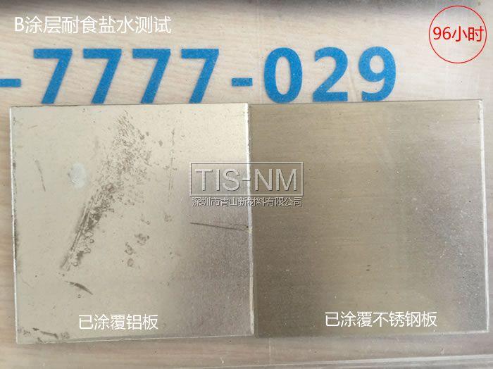 金属防腐蚀涂层实验-96小时